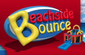 Beachside Bounce:  Tables, Chairs, and Tents
