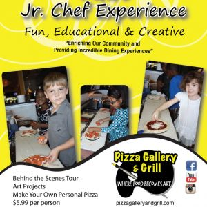 Pizza Gallery & Grill Jr Chef Experience